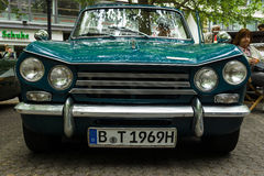 Compact six-cylinder car Triumph Vitesse. Royalty Free Stock Photos