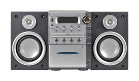Compact stereo system Stock Photos