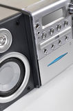 Compact stereo system Royalty Free Stock Photos