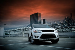 A compact SUV royalty free stock photo