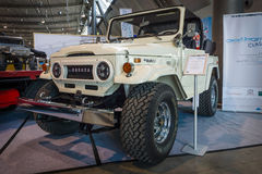 Compact SUV Toyota Land Cruiser J40, 1977. Royalty Free Stock Images