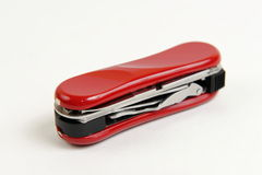 Compact Swiss army knife Stock Image