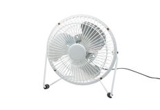 Compact table top electric fan Stock Image