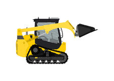 Compact track loader. Royalty Free Stock Photography
