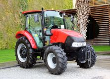 Compact tractor. Stock Photos