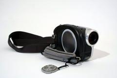 Compact video camera. Compact home video camera stock photos