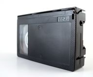 Compact Video Cassette Stock Photo