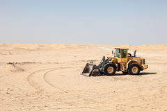 Compact wheel loader Stock Photography