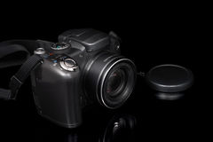 Compact zoom digital camera Royalty Free Stock Image