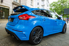 Compacte auto Ford Focus RS ( derde generation) Royalty-vrije Stock Foto