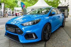 Compacte auto Ford Focus RS ( derde generation) Stock Foto