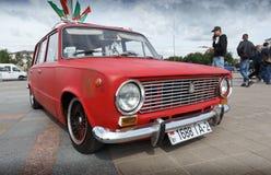 Compacte auto VAZ 2102 Stock Foto