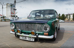 Compacte auto VAZ 2102 Royalty-vrije Stock Foto