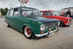 Compacte auto VAZ 2102 Stock Foto's