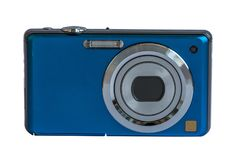 Compacte camera Front View royalty-vrije stock afbeelding