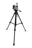 Compacte digitale camcorder op driepoot Stock Foto