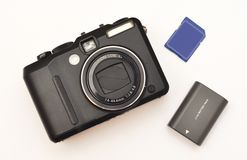 Compacte digitale camera Stock Foto's