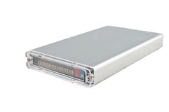 Compacte externe HDD Stock Foto