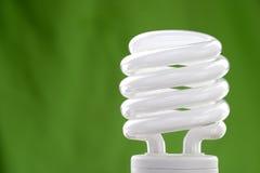Compacte fluorescente bol Royalty-vrije Stock Afbeeldingen