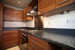 Compacte Keuken Royalty-vrije Stock Afbeelding