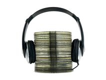 Compacte Muziek Royalty-vrije Stock Afbeeldingen