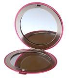 Compacte spiegel Stock Afbeeldingen