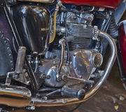Compacted Horsepower--Motorcycle Engine Stock Photos