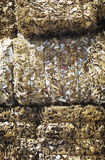 Compacted Piles Of Paperwaste Stock Photo