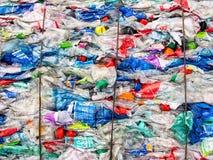 Recycling plastic Stock Photos