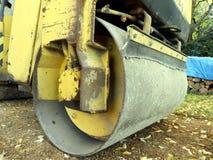 Compactor дороги стоковое изображение rf
