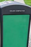 compactor солнечный Стоковые Изображения RF