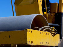Compactor. Closeup of Compactor roller Royalty Free Stock Image