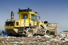 Compactor Royalty Free Stock Image