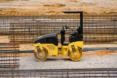 Compactor Roller Royalty Free Stock Photography