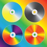 Compacts-disc Foto de Stock
