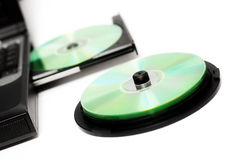Compacts-disc imagens de stock royalty free