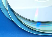 Compacts-disc Fotografia de Stock