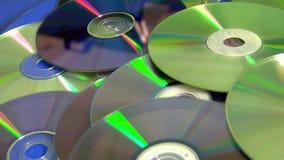 Compacts disc video estoque