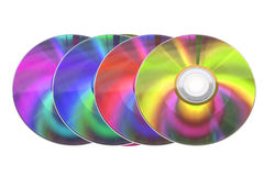 Compacts-disc Foto de Stock Royalty Free
