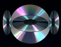 Compacts-disc de Digitas imagens de stock royalty free