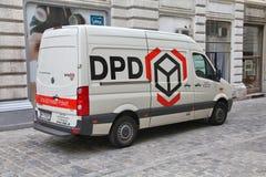 Compagnia di spedizioni di DPD Immagini Stock