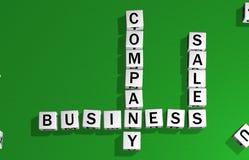 Compagnie, affaires et ventes de matrices illustration libre de droits