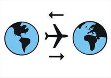 Compagnie de compagnie aérienne Images libres de droits