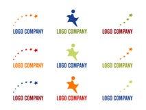 Compagnie de logo d'étoile. Photographie stock