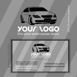 Compagnie de voiture Logo Template Photos stock