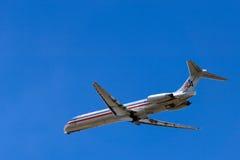 compagnies aériennes américaines Images libres de droits