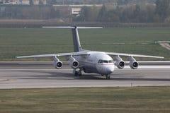 Compagnies aériennes Avro de Bruxelles Images libres de droits