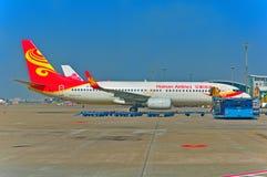 Compagnies aériennes de Hainan Photos stock