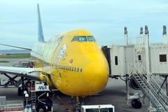 Compagnies aériennes de l'ANA du Japon Photos libres de droits