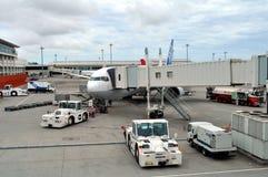 Compagnies aériennes de l'ANA du Japon Image libre de droits